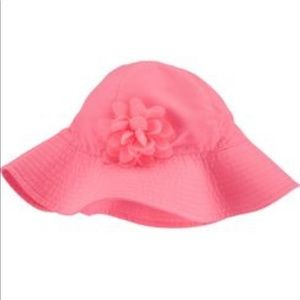 Carter's Coral Baby Sun Hat